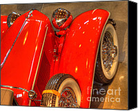 Classic Automobiles Canvas Prints - Cord Automobile  Canvas Print by Bob Christopher