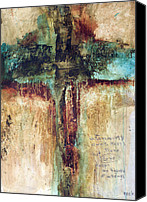 Christian Artwork Painting Canvas Prints - Corinthians Canvas Print by Michel  Keck