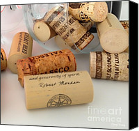 Gnarly Canvas Prints - Corks Canvas Print by Cheryl Young