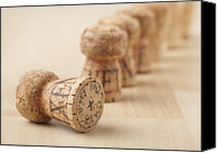 Bottle Cap Canvas Prints - Corks, Close-up Canvas Print by STOCK4B Creative
