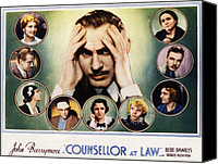 Posth Canvas Prints - Counsellor At Law, Center John Canvas Print by Everett