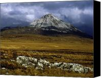 County Donegal Photo Canvas Prints - County Donegal, Mount Errigal, Ireland Canvas Print by The Irish Image Collection 