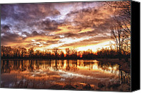 Storm Prints Canvas Prints - Crane Hollow Sunrise Boulder County Colorado HDR Canvas Print by James Bo Insogna