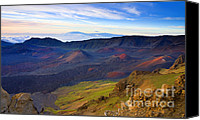 Mauna Kea Canvas Prints - Craters of PAradise Canvas Print by Mike  Dawson