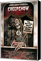 Horror Movies Canvas Prints - Creepshow, 1982 Canvas Print by Everett