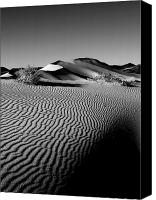 Grandkin Studios Photo Canvas Prints - Crescentic Sand Dunes Canvas Print by Jeffrey Campbell