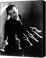 1935 Movies Canvas Prints - Crime And Punishment, Peter Lorre, 1935 Canvas Print by Everett