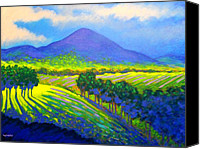 Violet Prints Canvas Prints - Croagh Patrick County Mayo Canvas Print by John  Nolan