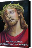 Indiana Autumn Canvas Prints - Crown of Christ Canvas Print by Unique Consignment