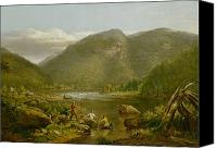 Wv Canvas Prints - Crows Nest Canvas Print by Thomas Worthington Whittredge