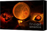 Magic Canvas Prints - Crystal ball Canvas Print by Fabrizio Troiani
