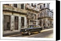 Photographs Digital Art Canvas Prints - Cuba 01 Canvas Print by Marco Hietberg