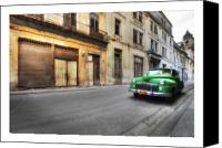 Photographs Digital Art Canvas Prints - Cuba 02 Canvas Print by Marco Hietberg