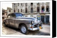 Photographs Digital Art Canvas Prints - Cuba 03 Canvas Print by Marco Hietberg