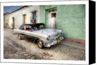 Photographs Digital Art Canvas Prints - Cuba 04 Canvas Print by Marco Hietberg