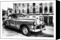 Photographs Digital Art Canvas Prints - Cuba 12 Canvas Print by Marco Hietberg