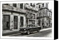 Photographs Digital Art Canvas Prints - Cuba 15 Canvas Print by Marco Hietberg