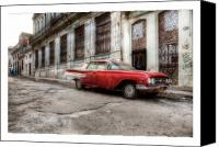 Photographs Digital Art Canvas Prints - Cuba 18 Canvas Print by Marco Hietberg