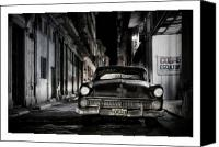 Marco Digital Art Canvas Prints - Cuba 20 Canvas Print by Marco Hietberg