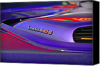 Purple Car Canvas Prints - Cuda 440-6 Canvas Print by Gordon Dean II