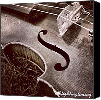 Violin Canvas Prints - Culture & Texture #violin #classical Canvas Print by Lighting and Timing
