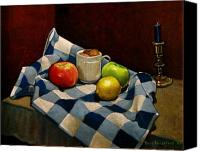 Fruits Canvas Prints - Cupboard Still Life Canvas Print by Doug Strickland
