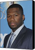 Cent Canvas Prints - Curtis Jackson, Aka 50 Cent Canvas Print by Everett