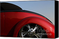Custom Ford Canvas Prints - Curves Canvas Print by Dennis Hedberg