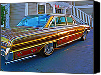 Custom Buick Canvas Prints - Custom Buick LeSabre Canvas Print by Pamela Patch