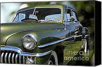 Custom Automobile Canvas Prints - Custom Desoto Car Canvas Print by Sophie Vigneault