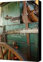 Chuck Wagon Canvas Prints - Cutting Edges Canvas Print by Robert Anschutz