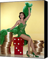 Charisse Canvas Prints - Cyd Charisse Canvas Print by Everett