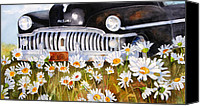 "\\\""texas Artist\\\\\\\"" Canvas Prints - Daisy DeSoto Canvas Print by Suzy Pal Powell"