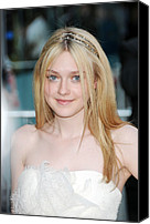 Alice Tully Hall At Lincoln Center Canvas Prints - Dakota Fanning At Arrivals For The 2010 Canvas Print by Everett