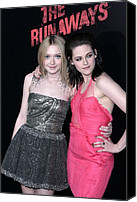 Kristen Stewart Canvas Prints - Dakota Fanning, Kristen Stewart Canvas Print by Everett