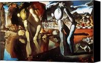 Dali Canvas Prints - Dali Narcissus 1934 Canvas Print by Granger