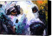 Austin Pet Artist Canvas Prints - Dalmatian Dog Painting Canvas Print by Svetlana Novikova