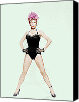 1950s Movies Canvas Prints - Damn Yankees, Gwen Verdon, 1958 Canvas Print by Everett