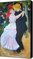Bougival Canvas Prints - Dance at bougival  Canvas Print by Eric  Schiabor