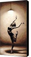 Dance Canvas Prints - Dance Eclecticism Canvas Print by Richard Young