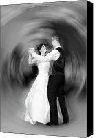 Important Canvas Prints - Dance of Love Canvas Print by Daniel Csoka
