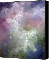 Faerie Canvas Prints - Dancing Angels Canvas Print by Marina Petro