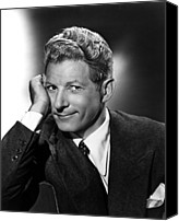 Publicity Shot Canvas Prints - Danny Kaye Publicity Shot For The Kid Canvas Print by Everett