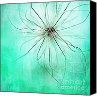 Mint Canvas Prints - Dar la Luz Canvas Print by Priska Wettstein