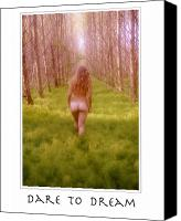Fantasy Photo Canvas Prints - Dare to Dream  Canvas Print by Ellis Christopher