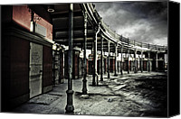 Hurricane Katrina Canvas Prints - Dark Entrance Canvas Print by Pixel Perfect by Michael Moore