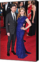 Academy Awards Oscars Canvas Prints - Darren Legallo, Amy Adams At Arrivals Canvas Print by Everett