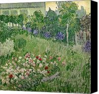 Le Jardin Canvas Prints - Daubignys Garden Canvas Print by Vincent Van Gogh