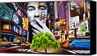 New York New York Canvas Prints - Dave Matthews Dreaming Tree Canvas Print by Joshua Morton