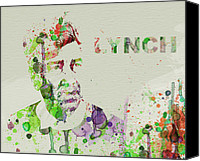 David Lynch Canvas Prints - David Lynch Canvas Print by Irina  March